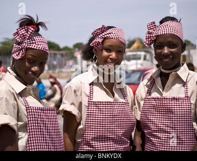 Young girls dancing in a festival in Nigeria Stock Photo ...