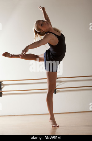 Dancer stretching - Stock Photo