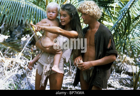 BABY & BROOKE SHIELDS THE BLUE LAGOON (1980 Stock Photo ...