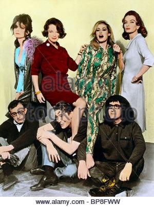 WHAT'S NEW PUSSYCAT? (1965) PAULA PRENTIS, ROMY SCHNEIDER ...