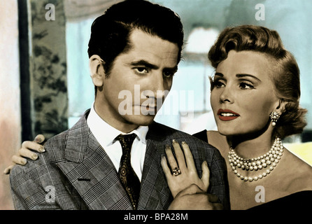 DANIEL GELIN & ZSA ZSA GABOR BEAUTY AND THE BULLFIGHTER ; LOVE IN A HOT CLIMATE (1954) - Stock Photo