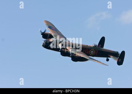 Avro 683 Lancaster B1 reg PA474, diplaying at Sywell - Stock Photo