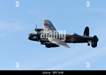 Avro 683 Lancaster B1 reg PA474, displaying at Sywell - Stock Photo