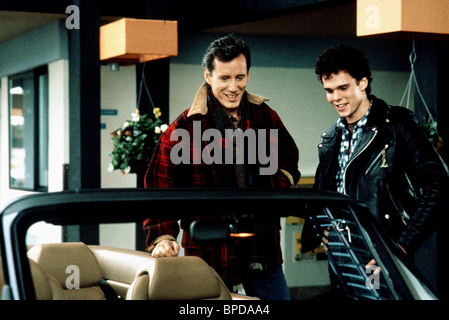 JAMES WOODS & KEVIN DILLON IMMEDIATE FAMILY (1989) - Stock Photo