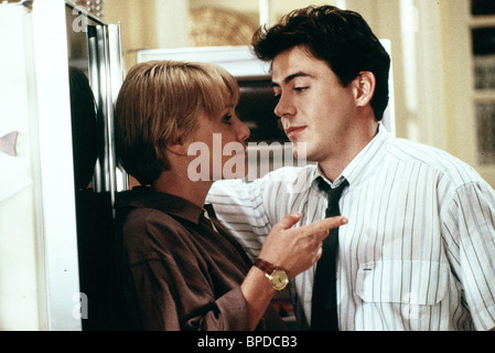 MARY STUART MASTERSON & ROBERT DOWNEY JR CHANCES ARE (1989) - Stock Photo