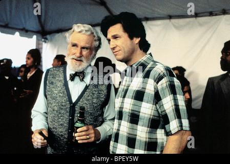 LLOYD BRIDGES & JEFF BRIDGES BLOWN AWAY (1994) - Stock Photo