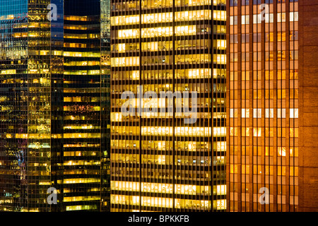 Skyscraper windows detail - Stock Photo