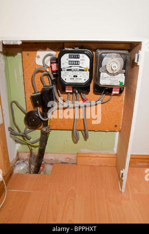 How To Read An Old Fashioned Electric Meter