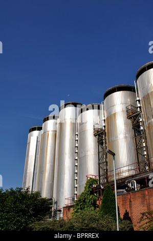Molson Coors brewery, Burton on Trent, Staffordshire, England, UK - Stock Photo