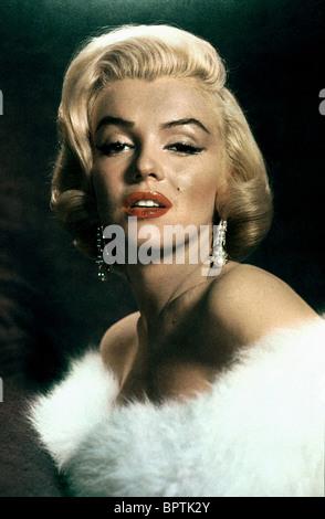 MARILYN MONROE ACTRESS (1957) - Stock Photo