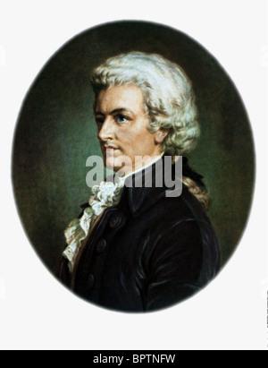 WOLFGANG AMADEUS MOZART COMPOSER (1785) - Stock Photo