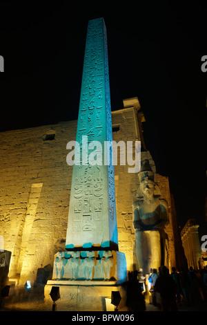 Obelisk of Ramesses II, Temple of Luxor, Thebes, UNESCO ...