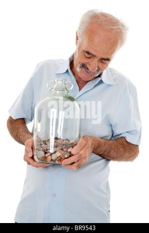 Savings Senior years - Stockfoto