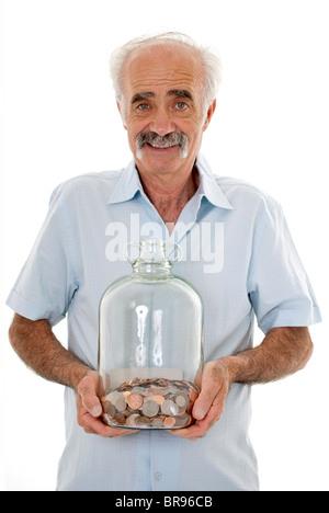 Rainy day savings - Stockfoto