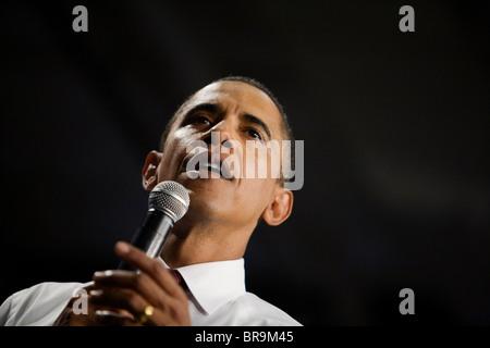 Senator Barack Obama in Albuquerque N.M. - Stock Photo