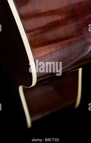 Extreme close up image of a guitar with abstract look - Stockfoto