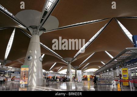 Kuala Lumpur International Airport in Malaysia. - Stock Photo