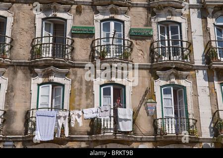 Portugal lisbon alfama district facade of santo antonio for Classic house facades