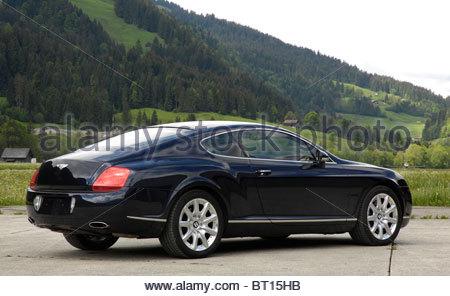 Bentley Continental GT 2003 - Stock Photo