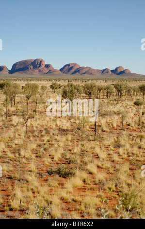 Australia, Northern Territory, Uluru-Kata tjuta national park - Stock Photo
