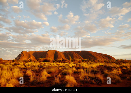 Australia, Northern Territory, Ayers Rock, Uluru-Kata tjuta national park - Stock Photo