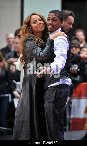 NBC Today Show Concert with Mariah Carey - Stock Photo