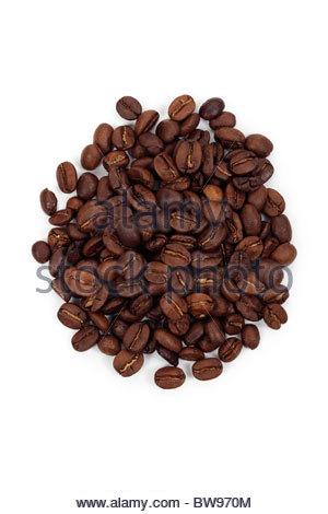 Coffee beans. - Stock Photo