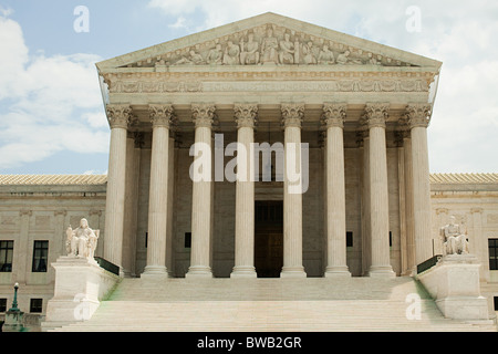 US supreme court building, Washington DC, USA - Stock Photo
