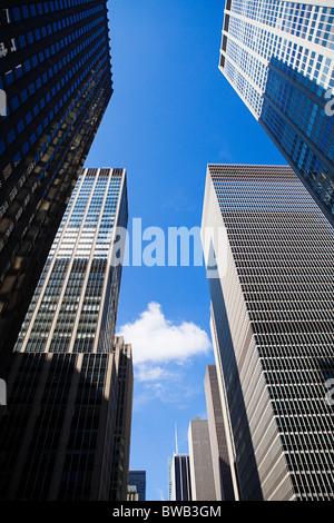 New York skyscrapers - Stock Photo