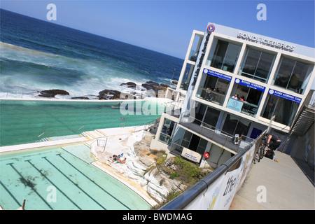 Bondi Icebergs Swimming Club, Bondi Beach, Sydney, New South Wales, NSW, east Australia, Australasia - Stockfoto