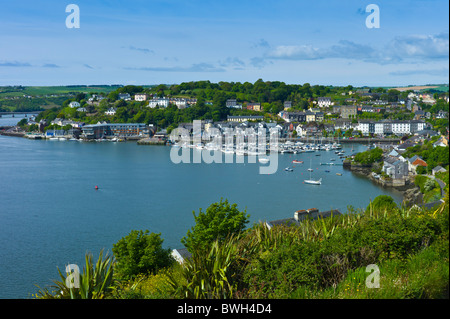 Popular tourist destination Kinsale harbour from Scilly, County Cork, Ireland - Stock Photo