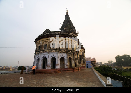 A beautiful old temple dedicated to the god Rama in Ayodhya, India. - Stockfoto