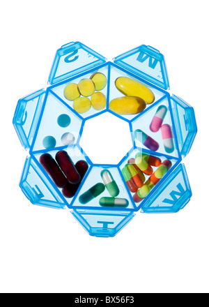 Pill box - Stock Photo