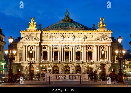 Paris, Opera House - Stock Photo