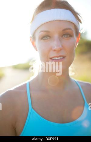 Athletic woman - Stockfoto