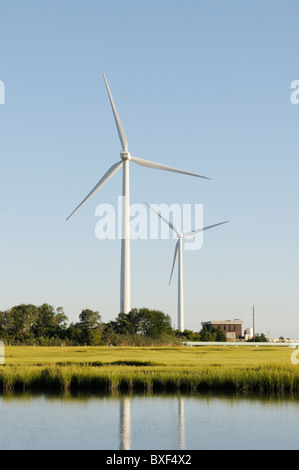 Jersey-Atlantic wind farm, first wind farm in New Jersey - Stock Photo