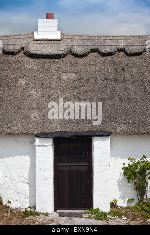 Traditional Irish Thatched Cottage Near Doolin And The