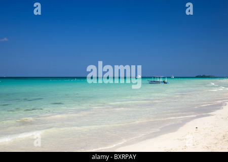 Jamaica, Negril, Seven mile Beach - Stock Photo