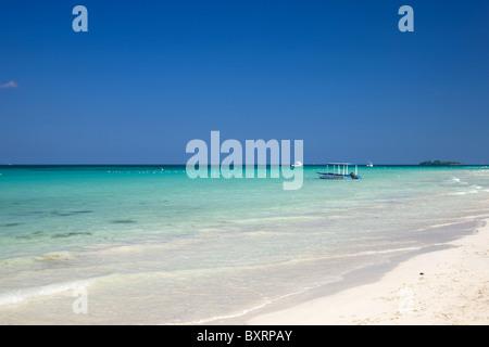 Jamaica, Negril, Seven mile Beach - Stock Photo