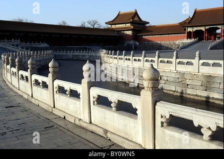 Forbidden City in Beijing, China. - Stock Photo