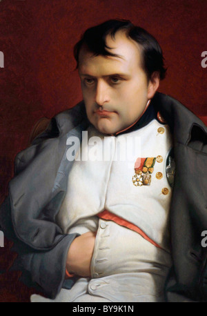 Napoleon I, Napoleon Bonaparte, Emperor of the French. 1769 - 1821. - Stock Photo