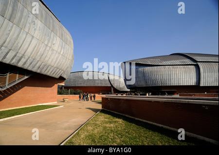 italy, rome, auditorium parco della musica, architect renzo piano - Stock Photo