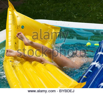 Underwater view of a swimmer enjoying a relaxing swim in for Plastic swimming pool garden