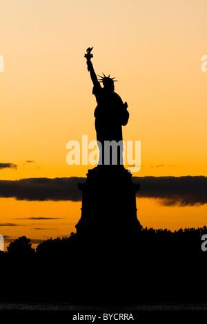Statue of Liberty. - Stock Photo