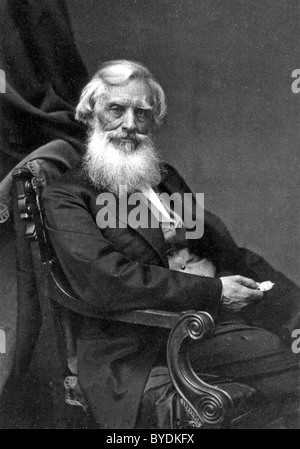SAMUEL MORSE (1791-1872) US artist and co-inventor of the Morse Code - Stock Photo