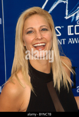 Karin Justman 2007 Taurus World Stunt Awards held at Paramount Pictures Studios - Arrivals Los Angeles, California - Stock Photo
