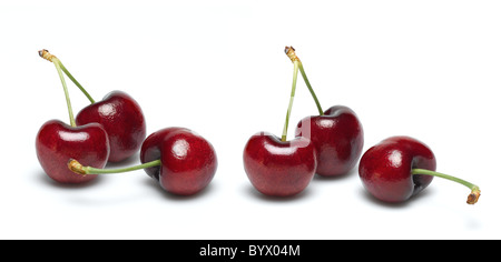 Cherries for cut out - Stock Photo