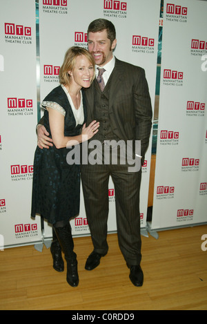 Mary Stuart Masterson and her husband of two years Jeremy Davidson Opening night After-Party for the MTC production - Stock Photo