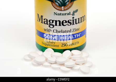 Magnesium ribbon and hydrochloric acid experiment