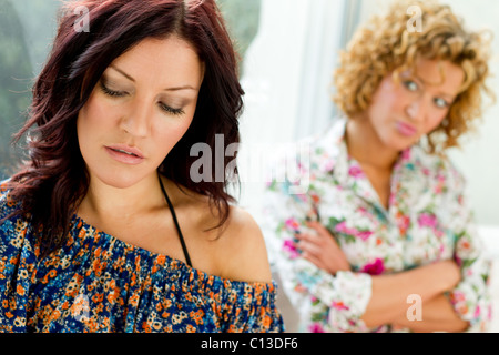 Two women together - Stock Photo